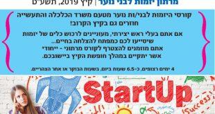 מרתון יזמות לבני נוער 2019