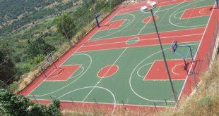 ترميم وتحديث الملعب الشامل في المدرسة